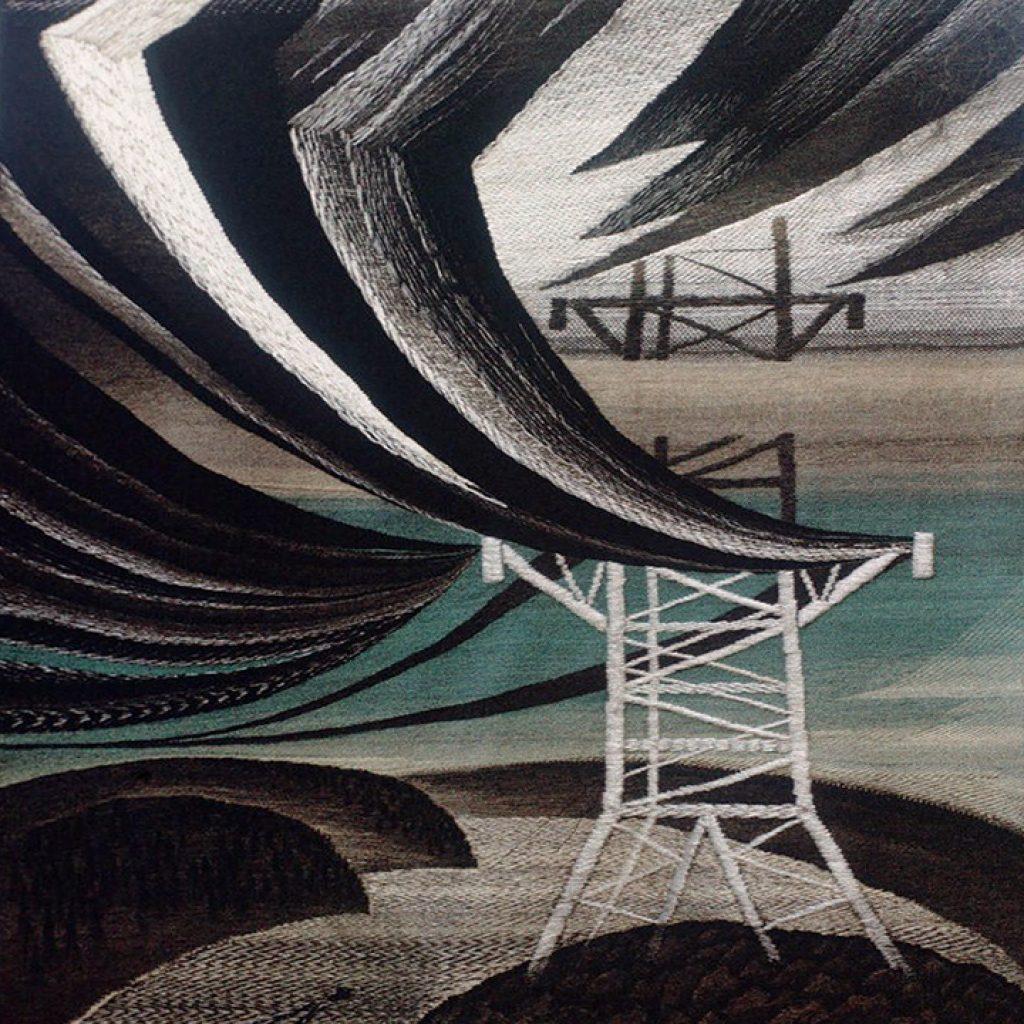 Б.Мигаль. Гобелен .Энергия-миру, 1988г.