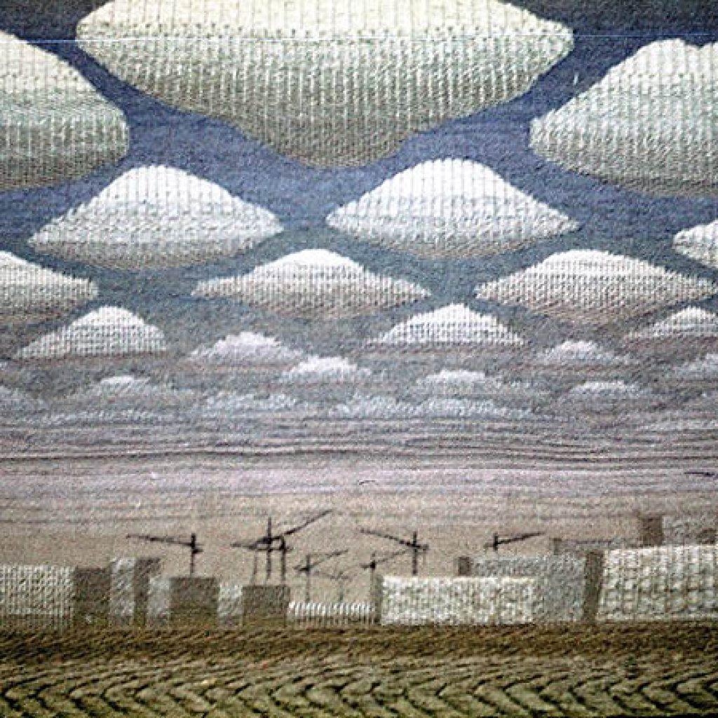 Борис Мигаль. Гобелен, авторская техника, 1978